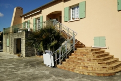 Outdoor Platform Lift for Stairs