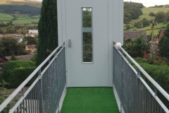 Garden Lift with Walkway
