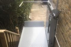 External Inclined Platform Lift