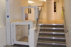 Platform Lift in Office Building