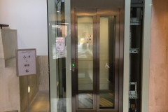 Hydraulic Platform Lift in Grade II Listed Building