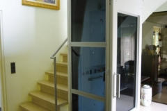 Home Lift in Stairwell