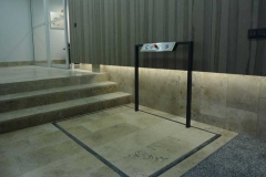 Wheelchair Lift in Hotel Lobby