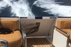 Hidden Platform Lift on Boat