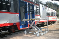Disabled Platform Lift for Trains