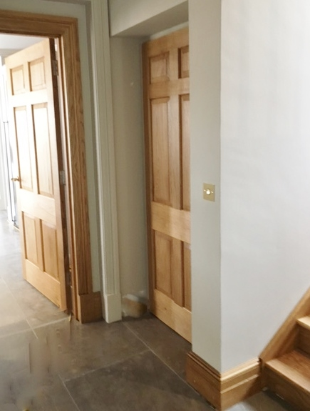 Concealed Home Lift in Hall cupboard