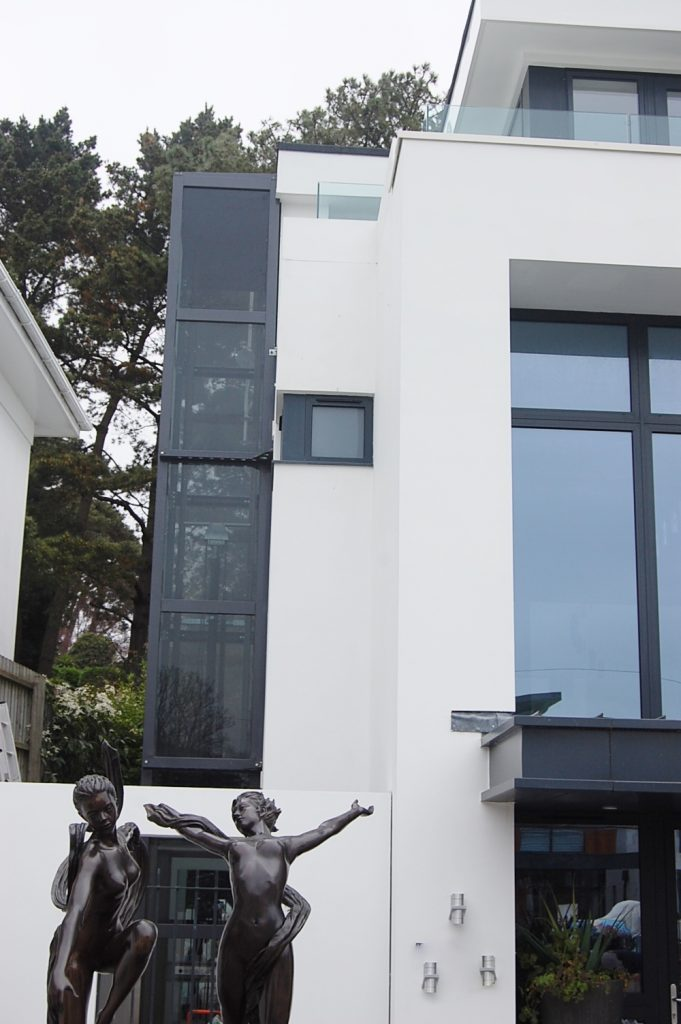 External Glass Home Lift