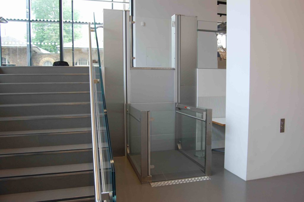 Disabled Wheelchair Lift in the National Army Museum