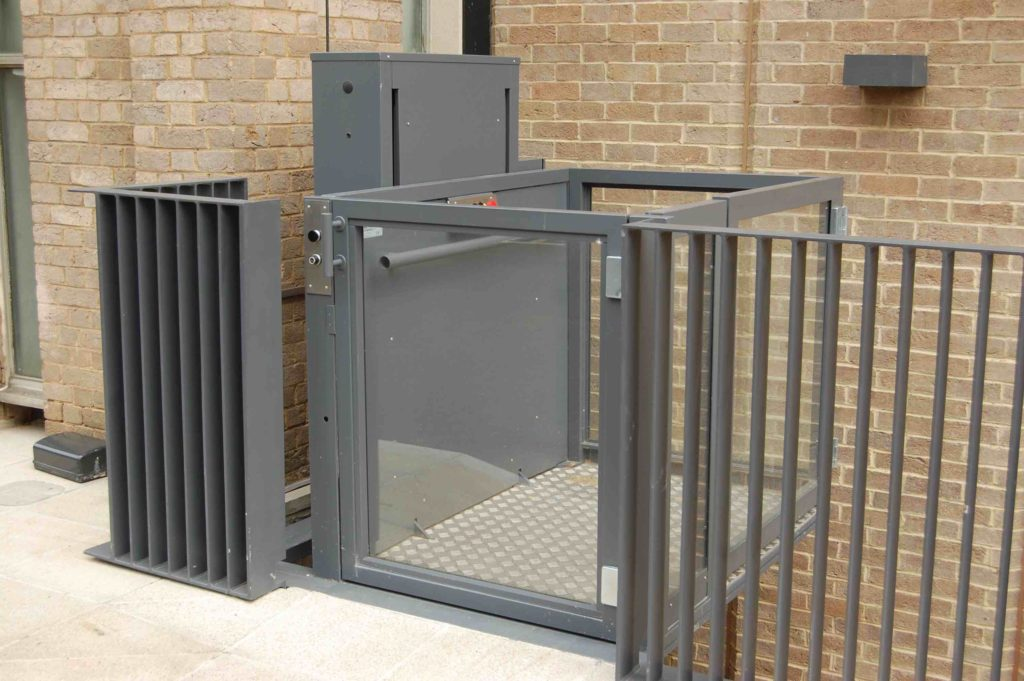External Platform Lift for Museums