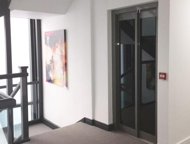 Glass Lift in Flats