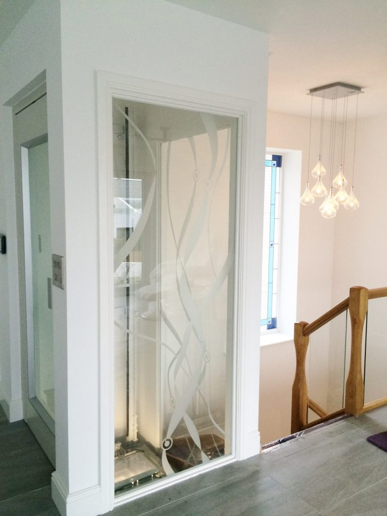 Glass Home Lift