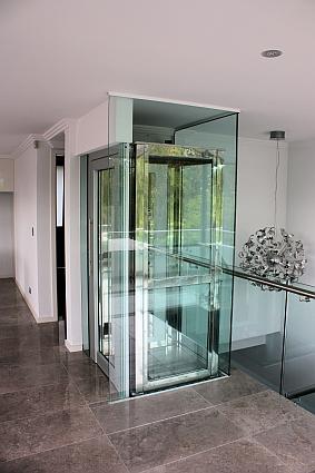 Glass Home Lift In St John S Wood Domestic Lifts Lifts