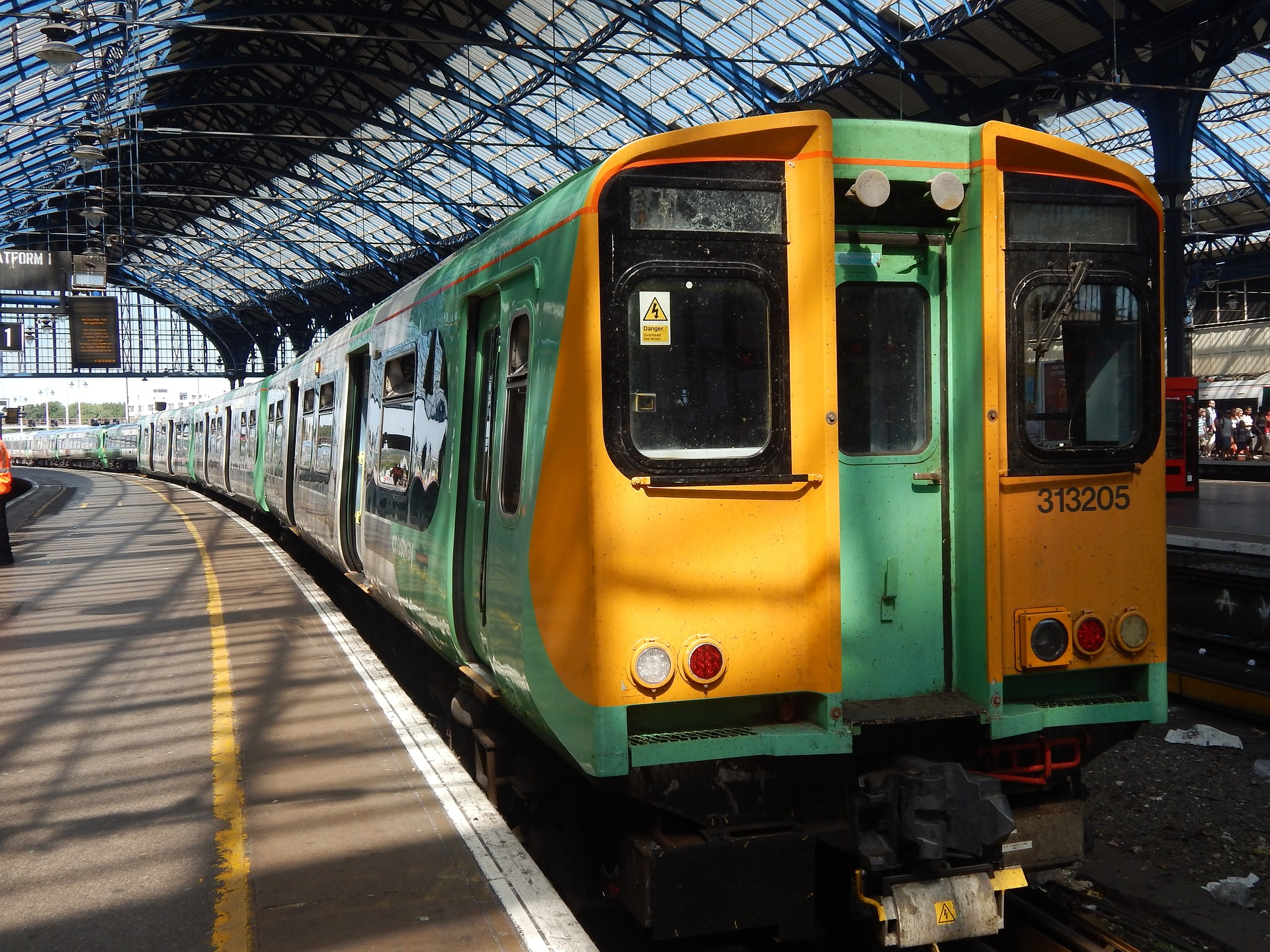 Old Southern Rail Train