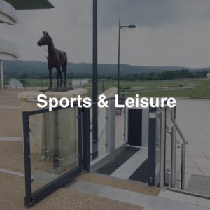 Lifts for Sporting Events, Lifts for Stadiums, Lifts for Sports Clubs, Lifts for Leisure Clubs