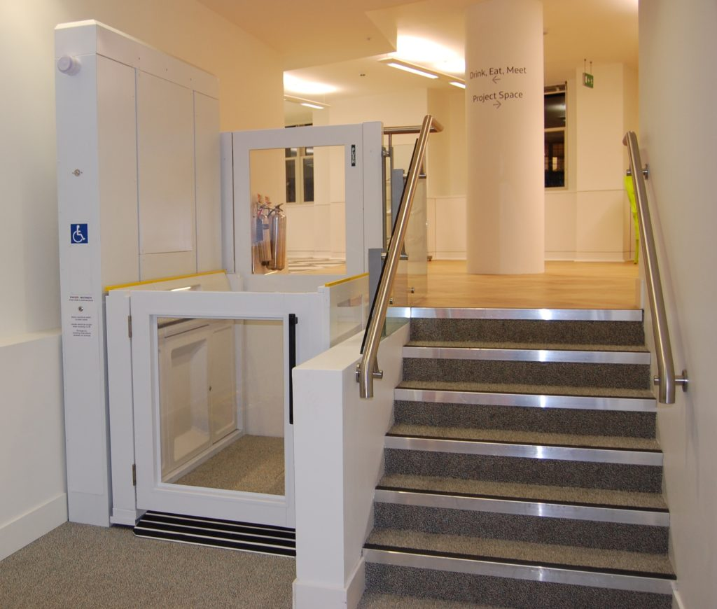 Wheelchair Lift in Office