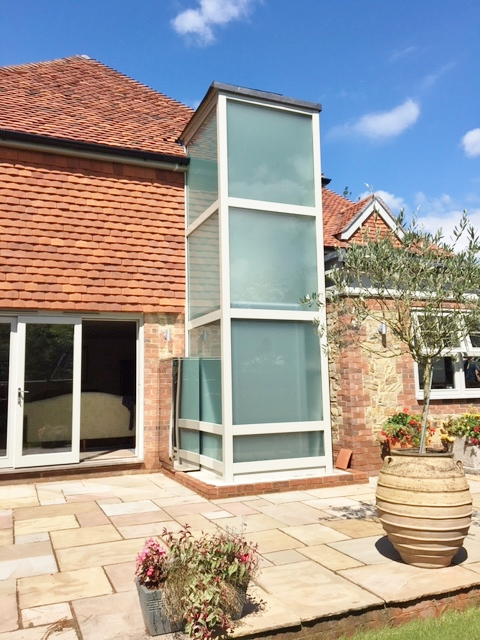 Residential Glass Lift in Chichester