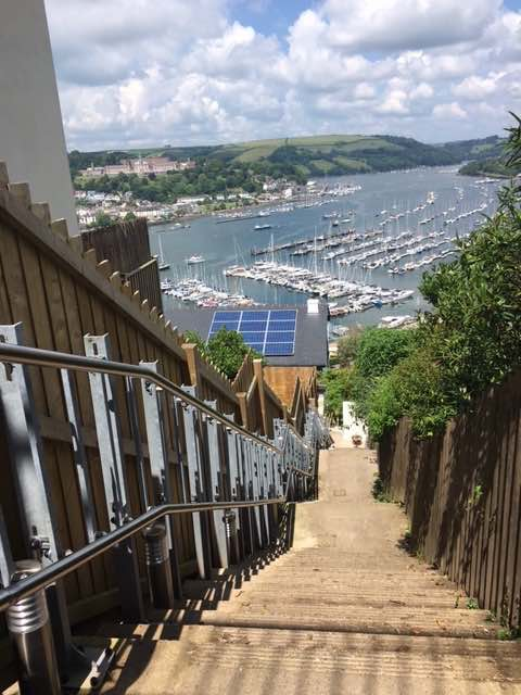 Outdoor Inclined Platform Lift in Dartmouth