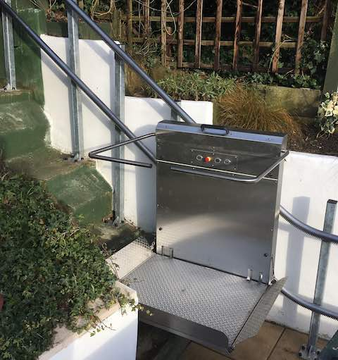 Outdoor Garden Lift in Parkstone
