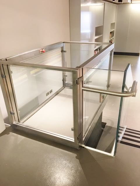 Platform Lifts at the National Army Museum