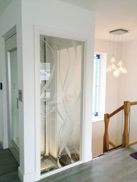 Glass Disabled Platform Lift
