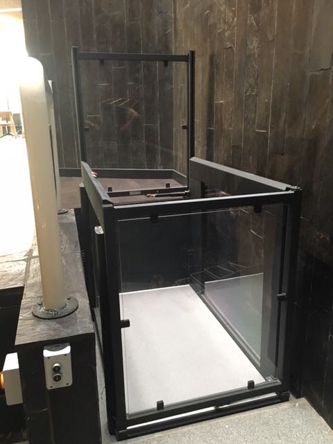Wheelchair Platform Lift at the York Theatre Royal