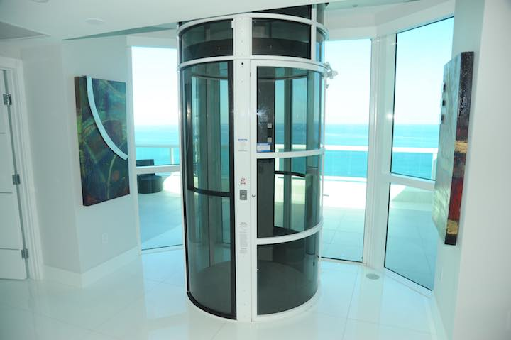 Pneumatic Home Lift