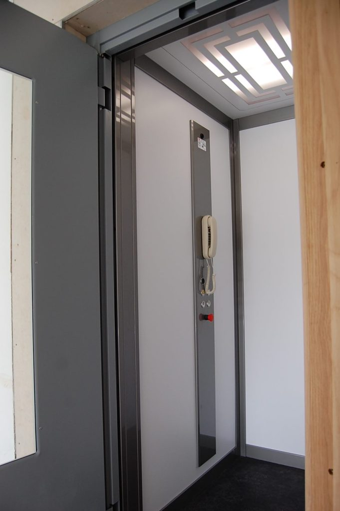 Home Platform Lift in Purpose Built Lift Shaft