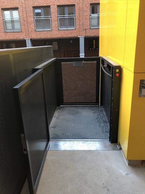 Goods Lift for Manchester Metropolitan University - Great Marlborough Street