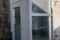 Outdoor Home Lift in Structure in Brixham, Devon