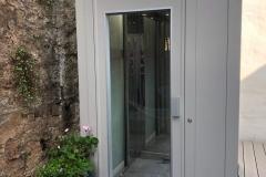 Outside Home Lift in Brixham, Devon