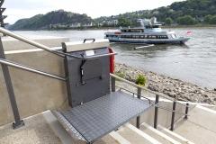 Outside Inclined Platform Lift