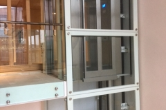 Lift in the British Library
