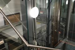 Hydraulic Platform Lift in Office
