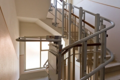 Inclined Platform Lift in Offices