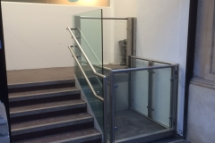 Disabled Platform Lift in London Office Block