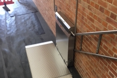 Wheelchair Lift Listed Building