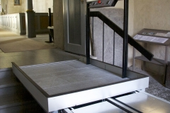 Wheelchair Platform Lift in Church