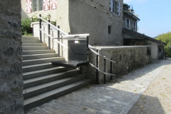 External Wheelchair Platform Lift