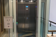 Wheelchair Elevator in Listed Building