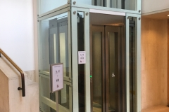 Disabled Access Lift in the British Library