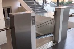 Wheelchair Platform Lift in Museum