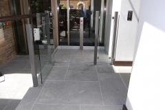 Hidden Wheelchair Lift at the Devonshire Club