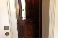 Antique Lift Interior at The Newt in Somerset