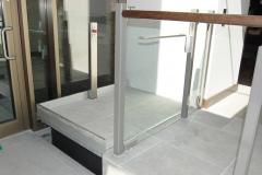 Hidden Platform Lift at the Devonshire Club