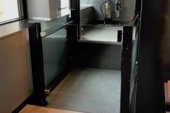 Open Platform Lift in Wagamama, London