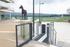 Wheelchair Platform Lift at Cheltenham Racecourse