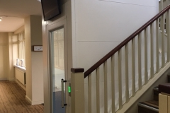 Hydraulic Platform Lift in Golf Clubhouse
