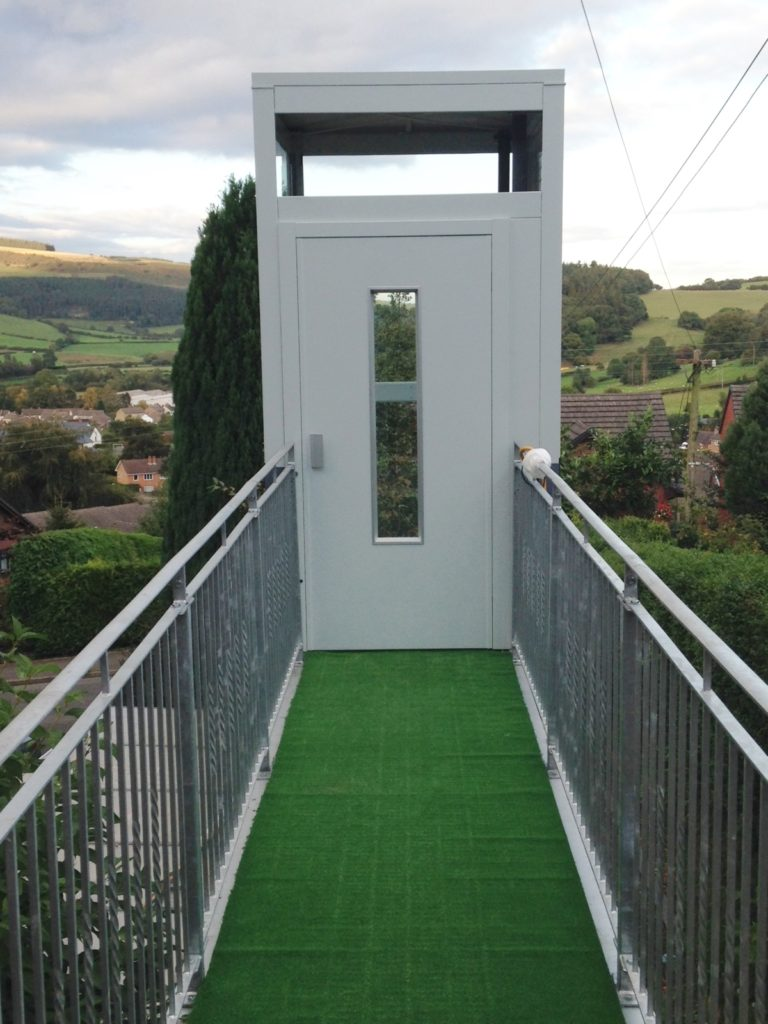 External Home Lift with Purpose Built Walkway