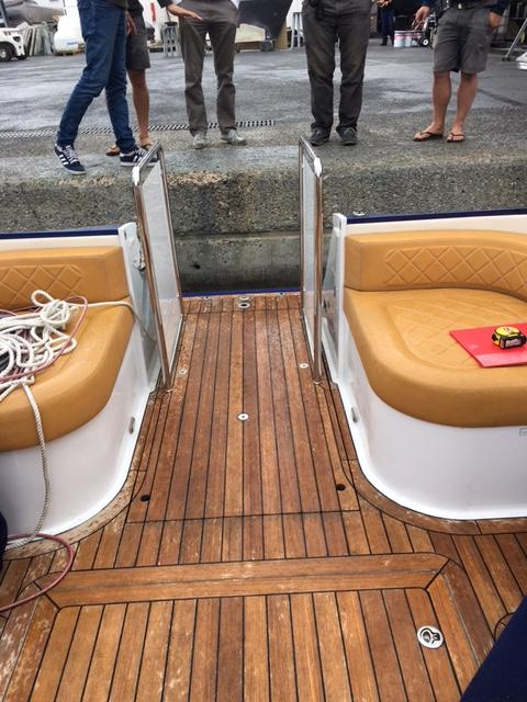 Speedboat Lift Lowered