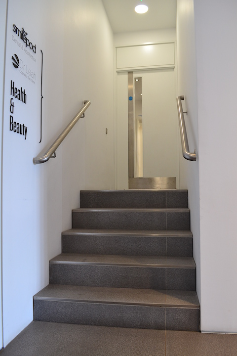 Stairwell at 24 Chiswell Street